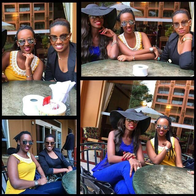 Bujumbura Fashion Week crew with Judith Heard