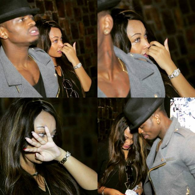 Zari and Diamond shed tears at Kigali Genocide Memorial Centre