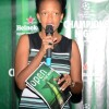 Juliana Kagwa Heineken Uganda country manager speaking at the launch