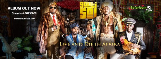 Sauti Sol's latest album Live and Die in Afrika is officially out