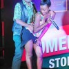 Allan Kanyike dancing with a female singer