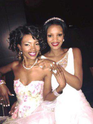 Barbara Kimbugwe and Salma