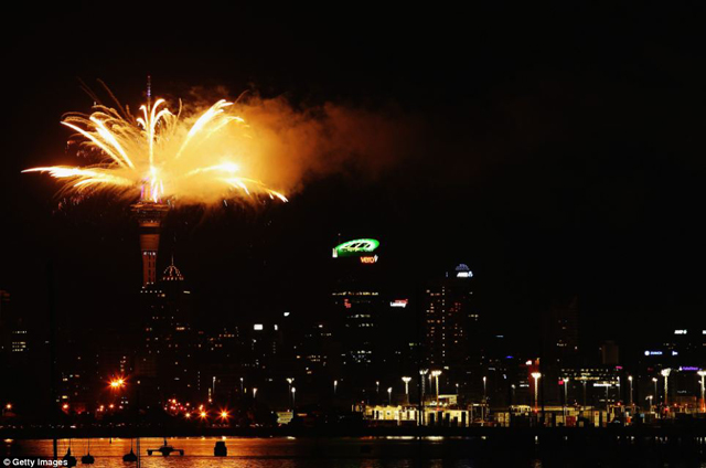 New Zealand is among the first nations to see in the New Year