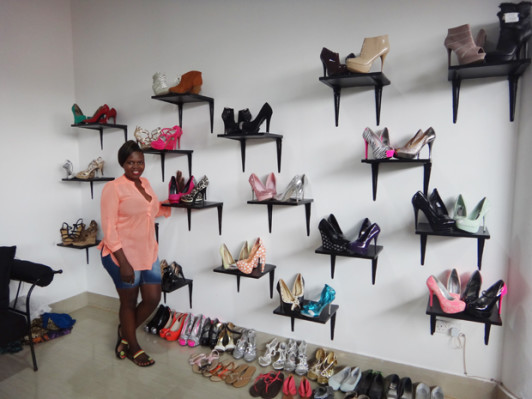 Some of the shoes Olivia Ansell sales