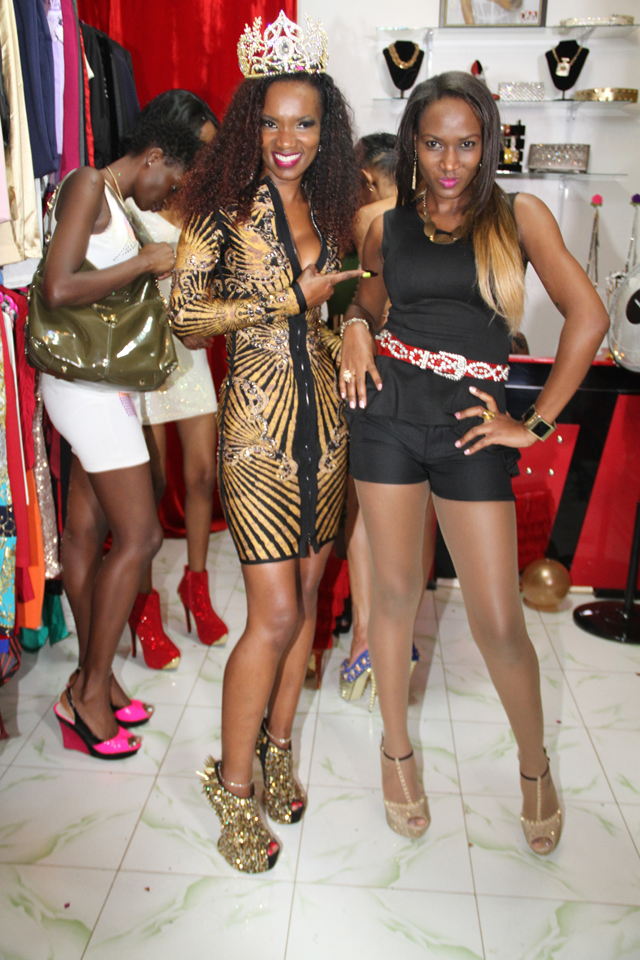 Beauty Queen: Barbara and Sylvia are all ex Miss Uganda