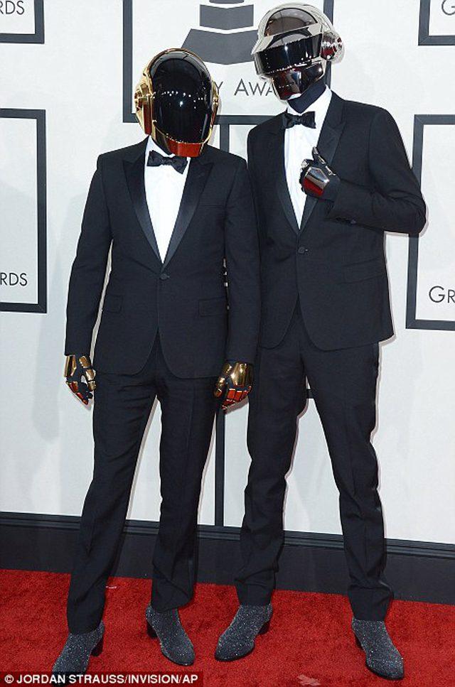 Daft Punk with their award