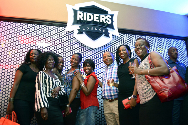 Guests at the launch of Riders Launch yesterday