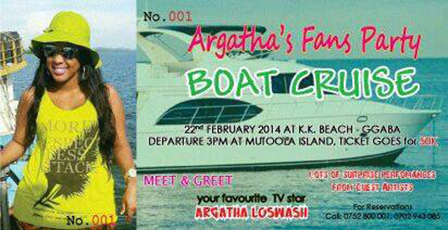 The Boat Cruise flyer