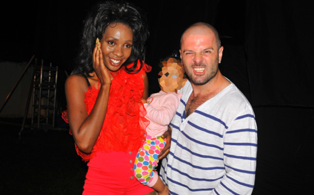 End of an Affair: Cindy and Mario with their daughter, Amani before they split