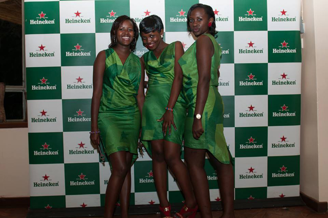 Heineken ushers looking hot and lovely