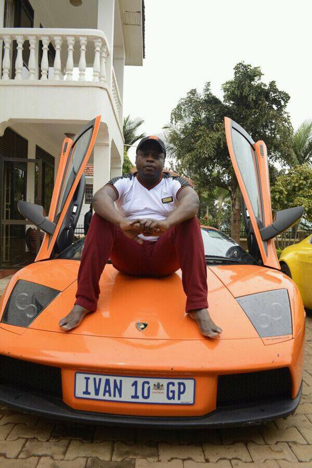 Told to behave in a song: Ivan Semwanga