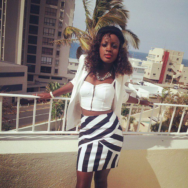 Amazing: Singer Leila Kayondo has a new manager
