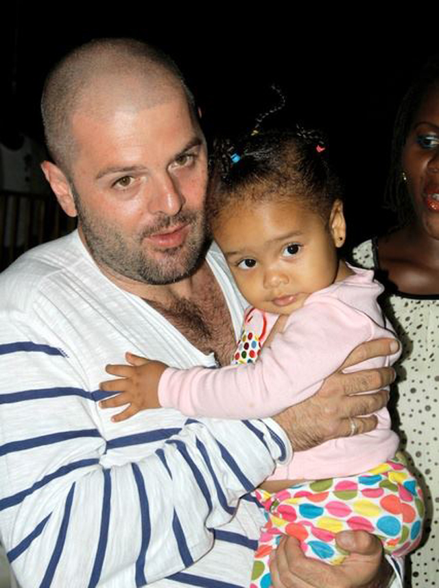 Custody court battle looming: Mario with their kid Amani