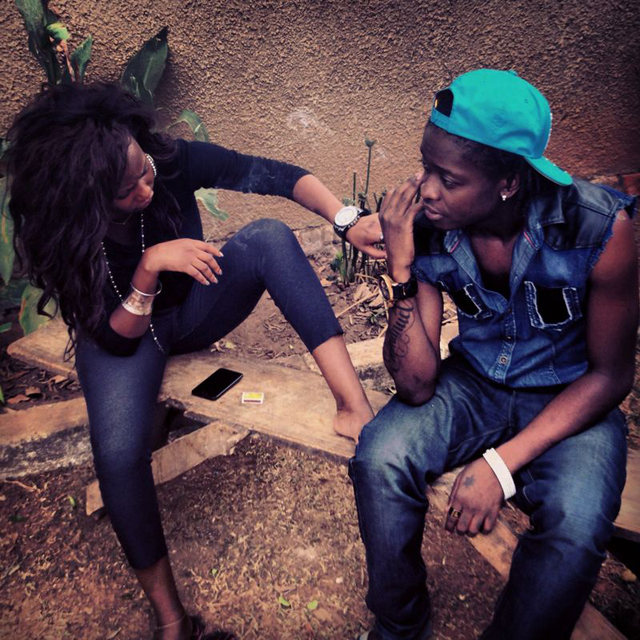 Brenda Nambi and AK47 doing their new song