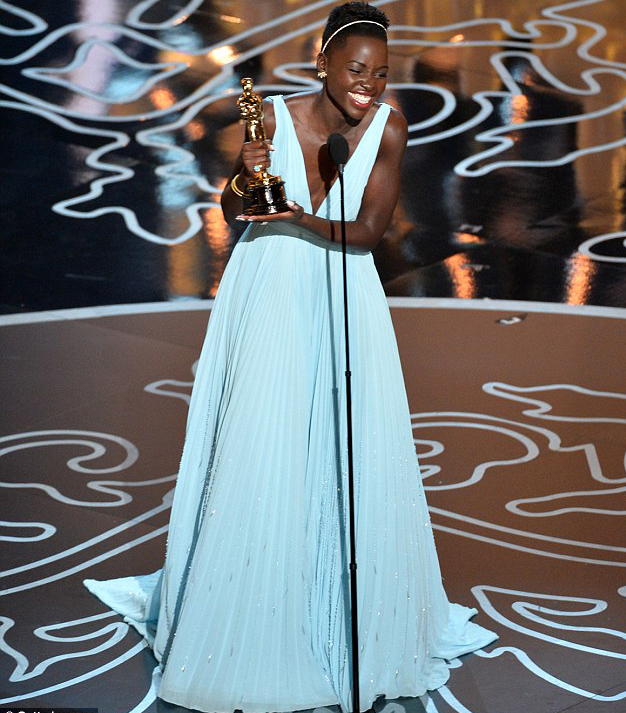 Lupita Nyong'o's heartfelt acceptance speech deeply touched many in the audience