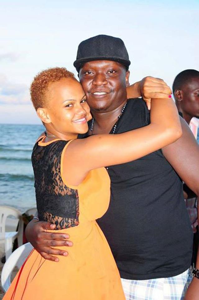 Exit: Patrick Idringi Salvado and wife Daphne