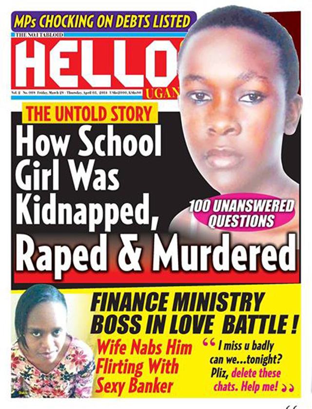 A copy of weekly Hello! Uganda that is turning into a daily starting next week