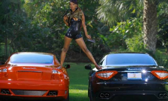 Barbara Kimbugwe on her Maserati cars
