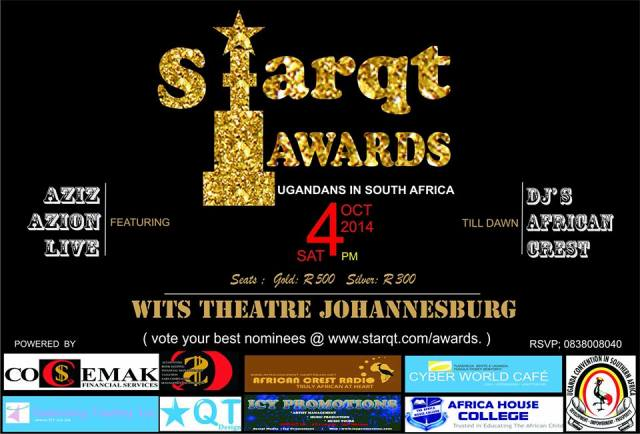 Poster for the Starqt Awards