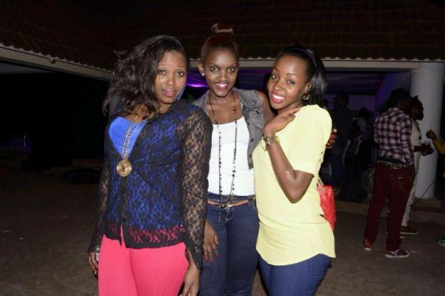 Pretty Glo, Fille and Kleith Kyatuhaire are close friends