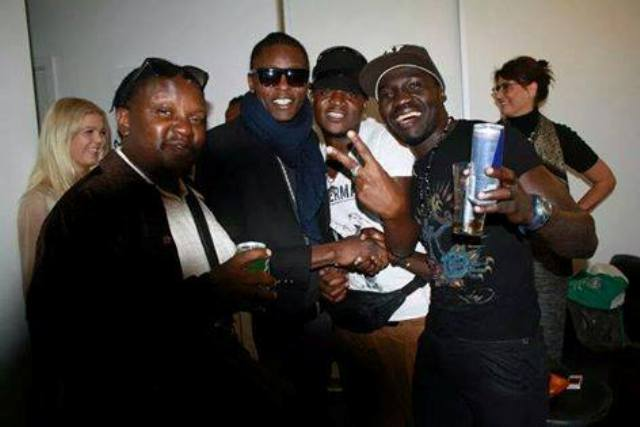 Ragga Dee with Chameleone and King Michael plus pals
