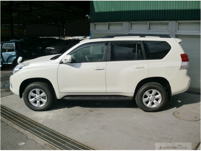 Rinah's new Toyota Land Cruiser Prado TX