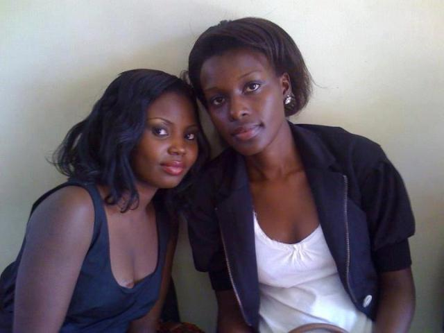Mary Luswata and Mariat Nasasira