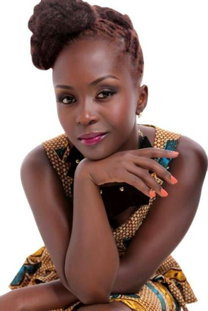 Anne Kansiime has topped the list of 100 Ugandan celebrities