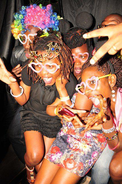 Girls having fun after enjoying Desperados