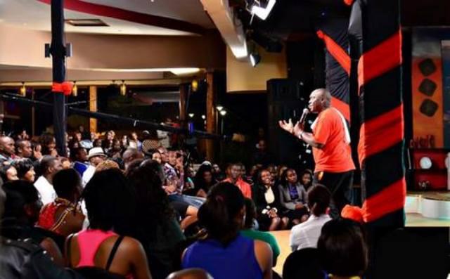 Salvado performing in Kenya over the weekend