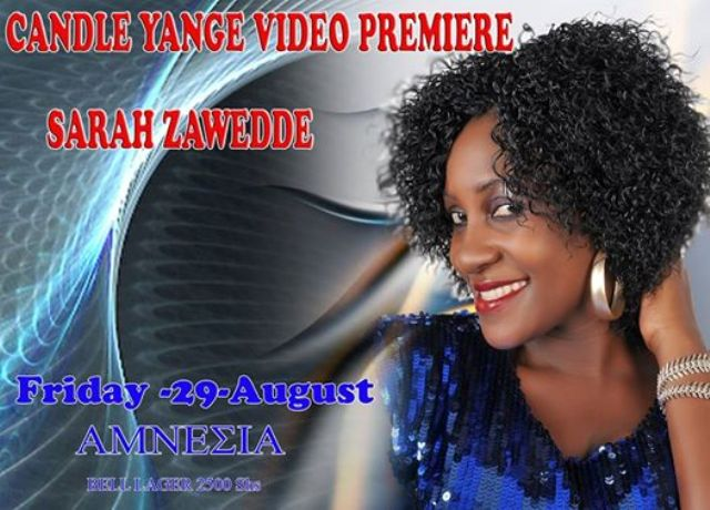 Sarah Zawedde is back with a new song