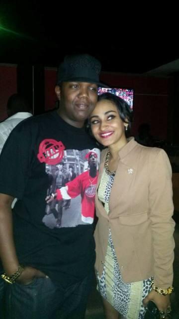 AY with Nickita Bachu at Flames