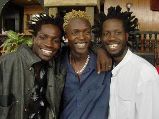 Bobi Wine, Jose Chameleone and Bebe Cool when they were still tight buddies