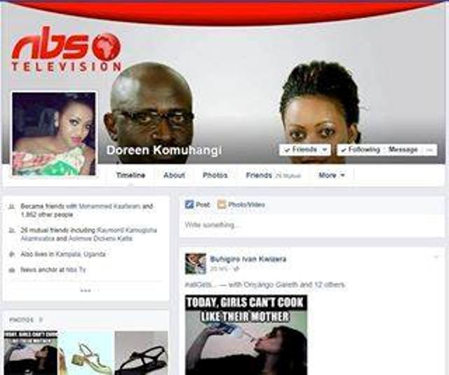 Fake Doreen Komuhangi used by a city babe to conmen innocent Ugandans