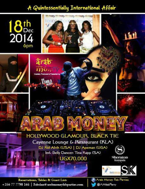 Arab Money Party poster