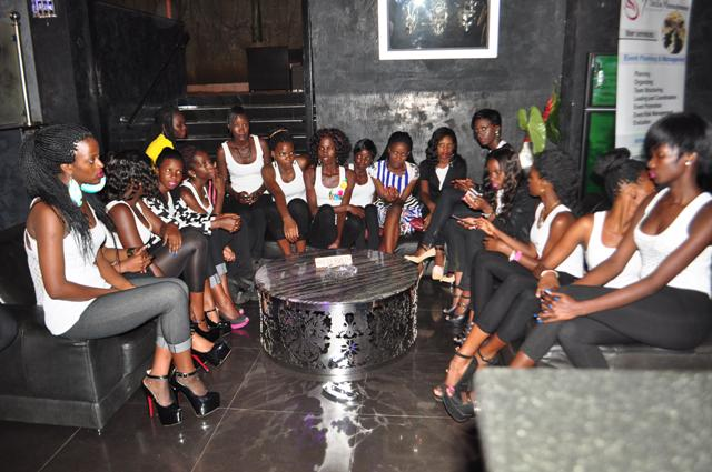 Some of the models who will model at the event