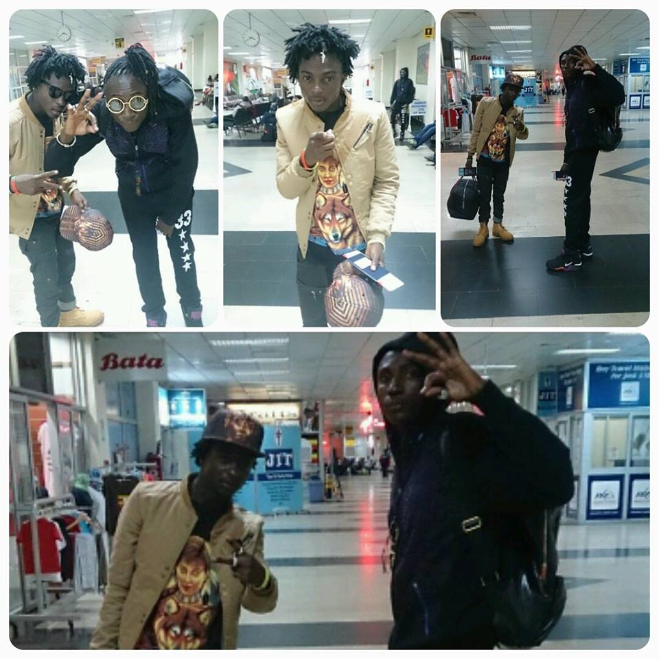 The duo heading to UK for the Face of Uganda