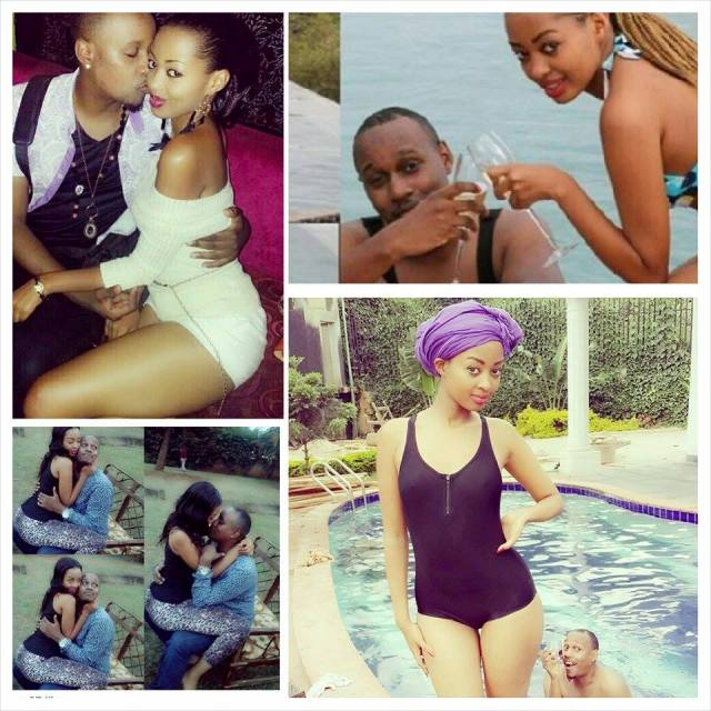 Fabiola enjoying with Mo Red. The two are set to marry each other