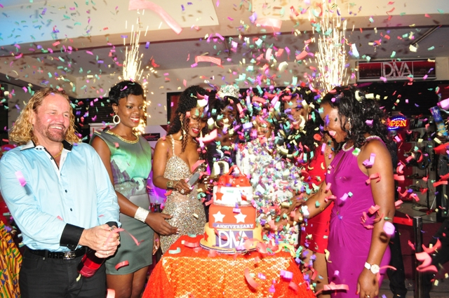 It was glitz, pomp and glamour at the function