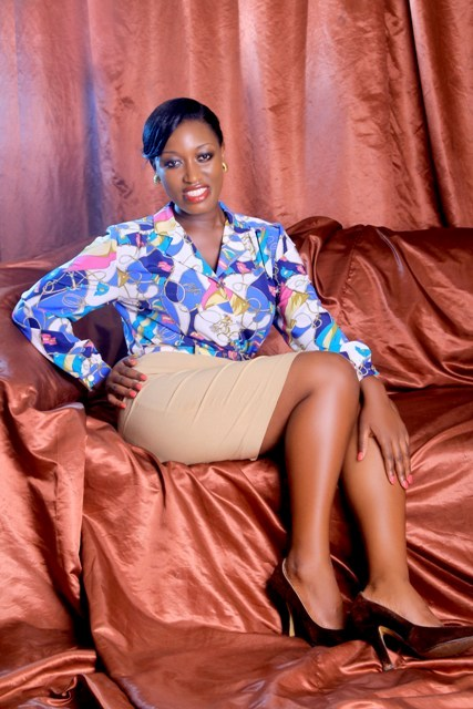 Justine Nameere says she is happily married to Vision Group in terms of work and has a new show coming up on Bukedde TV