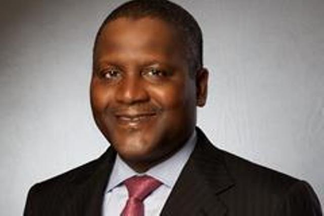 Aliko Dangote, still Africa's richest man