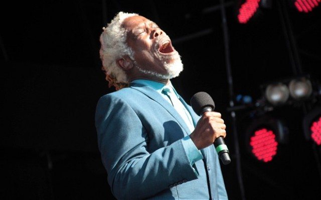 Billy Ocean performing to his fans