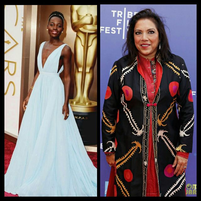 Lupita and Mira Nair are in town this weekend