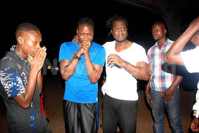 Pallaso, Bebe Cool with friends mourning AK47's death