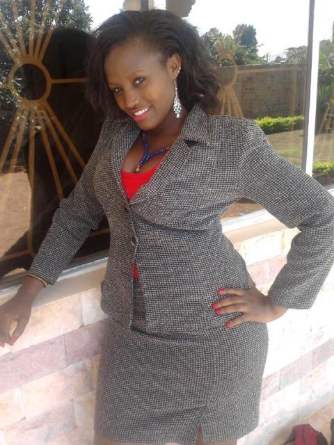 Proud mother: Esther Komweru