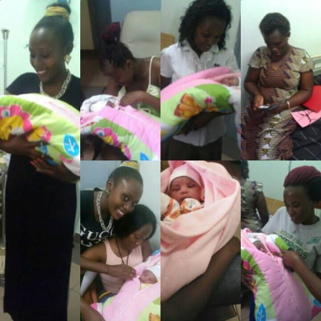 The joy at receiving Esther's baby