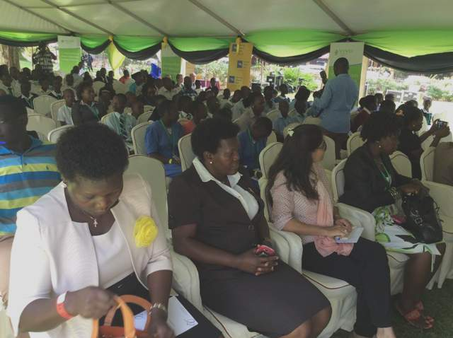 It was a full house at the conference
