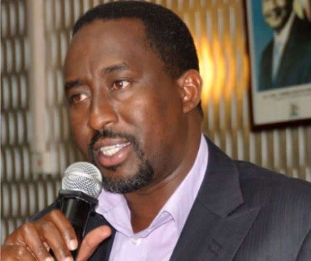 Micheal Mugisa ED  of NFA
