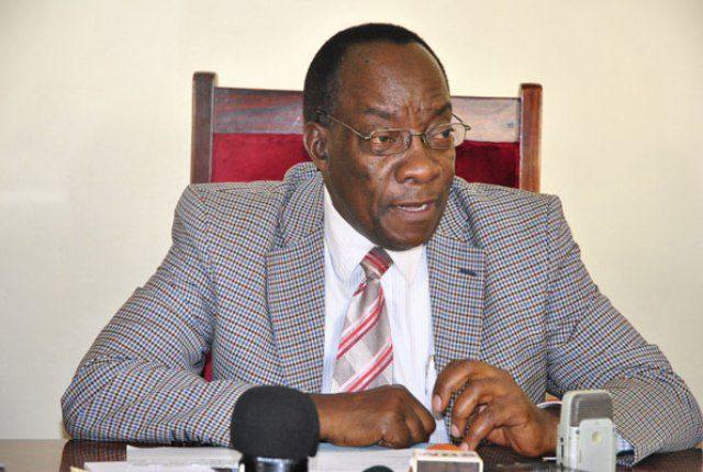 Uganda's Electoral Commission Chairman Eng. Dr. Badru Kigggundu