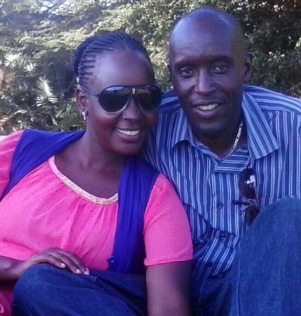 Hannington here with his wife has declared his intentions to run for Kashari South MP 2016